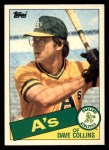 1985 Topps Traded #25 T Dave Collins  Front Thumbnail