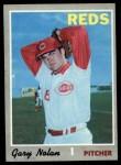 1970 Topps #484  Gary Nolan  Front Thumbnail