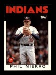 1986 Topps Traded #77 T Phil Niekro  Front Thumbnail
