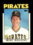 1986 Topps Traded #10 T Mike Bielecki  Front Thumbnail
