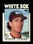 1986 Topps Traded #67 T Steve Lyons  Front Thumbnail