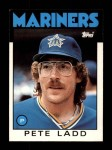 1986 Topps Traded #58 T Pete Ladd  Front Thumbnail