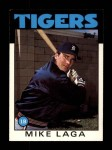 1986 Topps Traded #59 T Mike Laga  Front Thumbnail