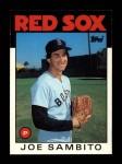 1986 Topps Traded #97 T Joe Sambito  Front Thumbnail