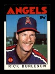1986 Topps Traded #16 T Rick Burleson  Front Thumbnail