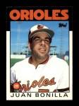 1986 Topps Traded #13 T Juan Bonilla  Front Thumbnail