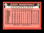 1986 Topps Traded #76 T Jerry Mumphrey  Back Thumbnail