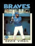 1986 Topps Traded #119 T Ozzie Virgil  Front Thumbnail