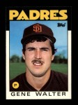 1986 Topps Traded #121 T Gene Walter  Front Thumbnail