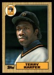 1987 Topps Traded #42 T Terry Harper  Front Thumbnail