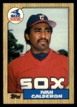 1987 Topps Traded #15 T Ivan Calderon  Front Thumbnail