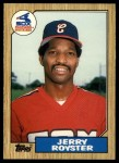 1987 Topps Traded #106 T Jerry Royster  Front Thumbnail