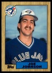 1987 Topps Traded #56 T Joe Johnson  Front Thumbnail