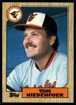 1987 Topps Traded #88 T Tom Niedenfuer  Front Thumbnail