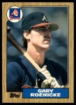 1987 Topps Traded #105 T Gary Roenicke  Front Thumbnail