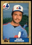 1987 Topps Traded #45 T Neal Heaton  Front Thumbnail