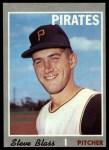 1970 Topps #396  Steve Blass  Front Thumbnail