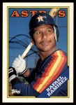 1988 Topps Traded #90 T Rafael Ramirez  Front Thumbnail
