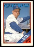 1988 Topps Traded #131 T Don Zimmer  Front Thumbnail