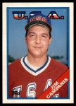 1988 Topps Traded #23 T  -  Jim Campanis Team USA Front Thumbnail