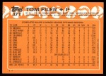 1988 Topps Traded #37 T Tom Filer  Back Thumbnail