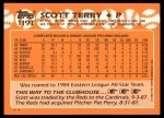 1988 Topps Traded #119 T Scott Terry  Back Thumbnail