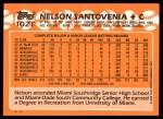 1988 Topps Traded #102 T Nelson Santovenia  Back Thumbnail