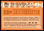 1988 Topps Traded #109 T  -  Joe Slusarski Team USA Back Thumbnail
