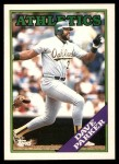 1988 Topps Traded #81 T Dave Parker  Front Thumbnail