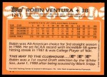 1988 Topps Traded #124 T  -  Robin Ventura Team USA Back Thumbnail
