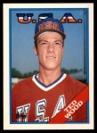 1988 Topps Traded #130 T  -  Ted Wood Team USA Front Thumbnail