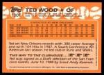 1988 Topps Traded #130 T  -  Ted Wood Team USA Back Thumbnail