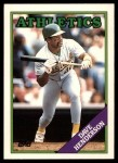 1988 Topps Traded #48 T Dave Henderson  Front Thumbnail