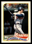 1989 Topps Traded #31 T Darrell Evans  Front Thumbnail