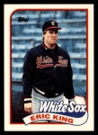 1989 Topps Traded #61 T Eric King  Front Thumbnail