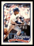 1989 Topps Traded #100 T Willie Randolph  Front Thumbnail
