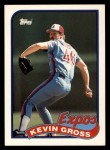 1989 Topps Traded #42 T Kevin Gross  Front Thumbnail