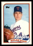 1989 Topps Traded #106 T Nolan Ryan  Front Thumbnail