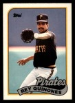 1989 Topps Traded #98 T Rey Quinones  Front Thumbnail