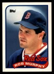 1989 Topps Traded #86 T Rob Murphy  Front Thumbnail