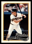 1989 Topps Traded #25 T Benny Distefano  Front Thumbnail