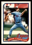 1989 Topps Traded #66 T Mark Langston  Front Thumbnail