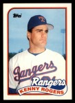 1989 Topps Traded #104 T Kenny Rogers  Front Thumbnail
