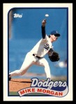 1989 Topps Traded #84 T Mike Morgan  Front Thumbnail