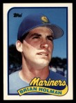 1989 Topps Traded #51 T Brian Holman  Front Thumbnail