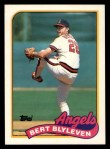 1989 Topps Traded #11 T Ber Blyleven  Front Thumbnail