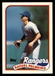 1989 Topps Traded #93 T Rafael Palmeiro  Front Thumbnail