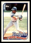 1989 Topps Traded #87 T Eddie Murray  Front Thumbnail