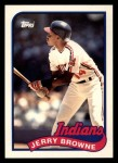 1989 Topps Traded #16 T Jerry Browne  Front Thumbnail