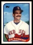 1989 Topps Traded #105 T Ed Romero  Front Thumbnail